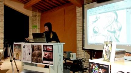 Disegno live di Debora Ferretti. Riprese di Samuele Pierantoni.