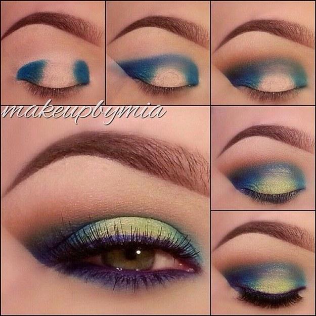 Truques de Beleza - Sombra Colorida