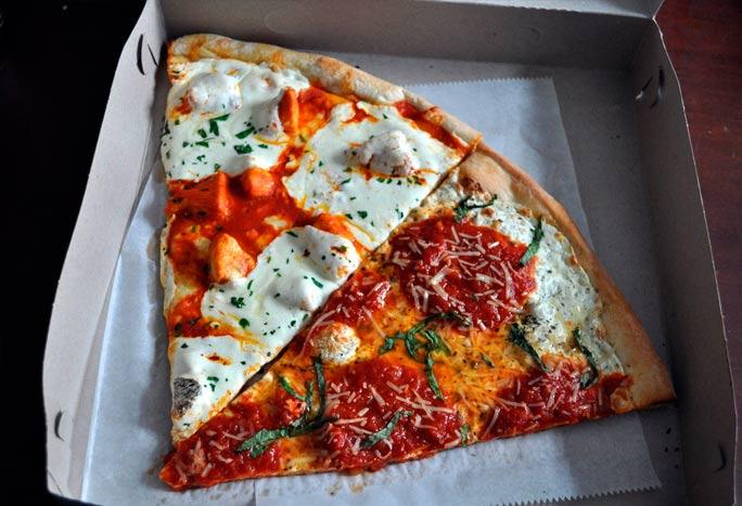 Viagem para Nova York quanto levar de dinheiro - pizza