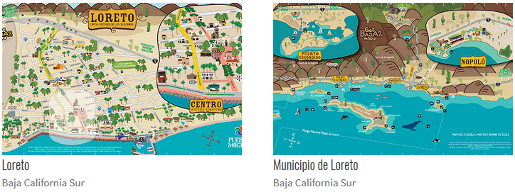 Loreto Bay Maps