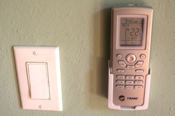 There are three separate HVAC controls so you can have the perfect temperature.