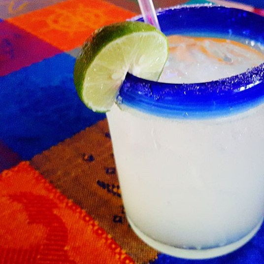 Thirsty? It isn't difficult to find a refreshing margarita in Loreto!