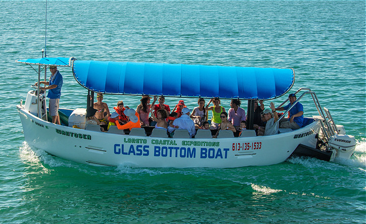 More Than Three Hour Tour on WanToSea Glass Bottom Boat