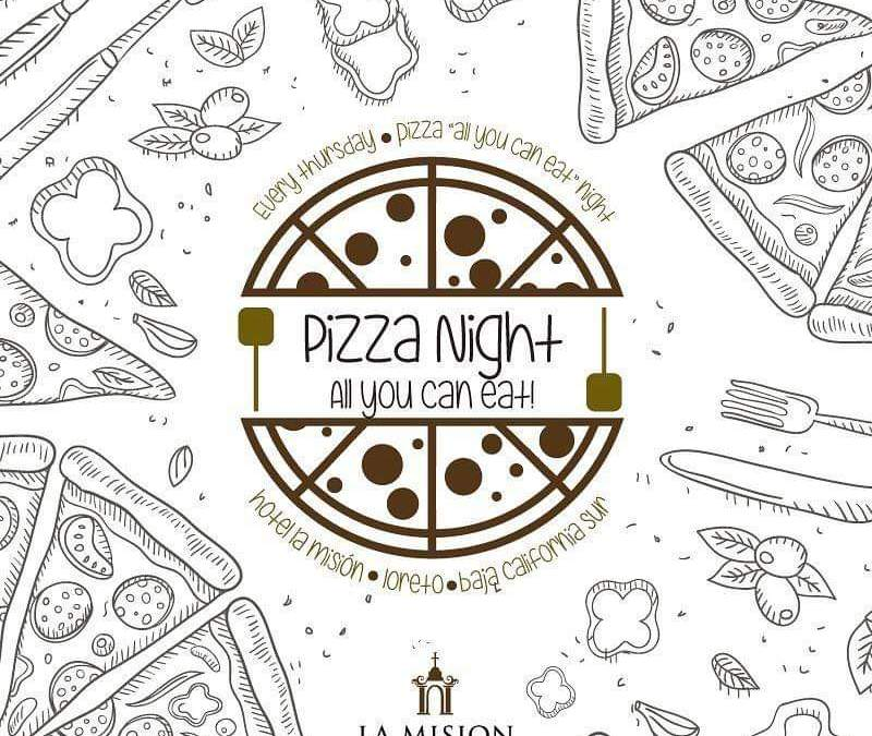 La Mision Loreto Mexico Pizza Night