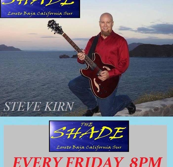 Steve Kirn at the Shade