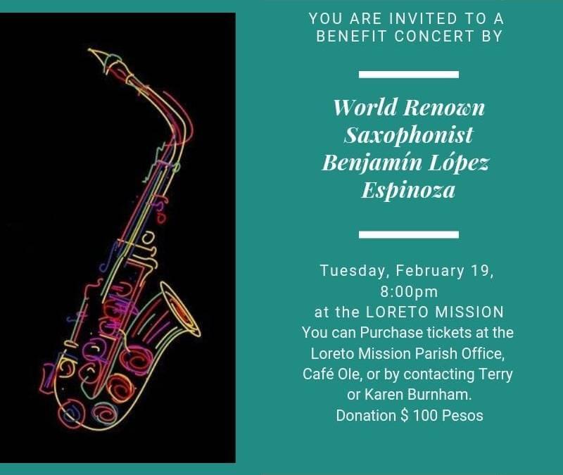 World Renowned Saxophonist Benjamin Lopez Espinoza