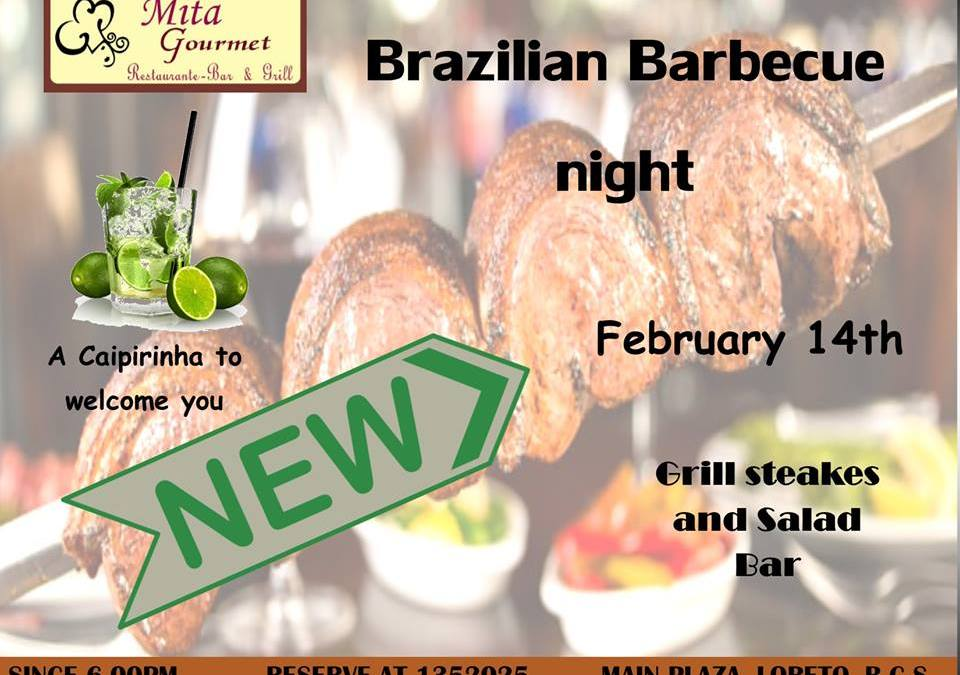 Brazilian Barbecue Night