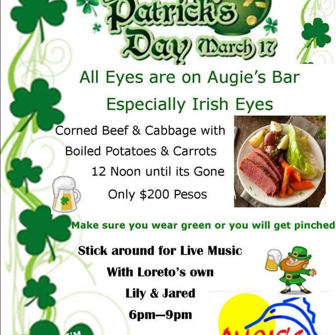 Saint Patrick's Day at Augie's