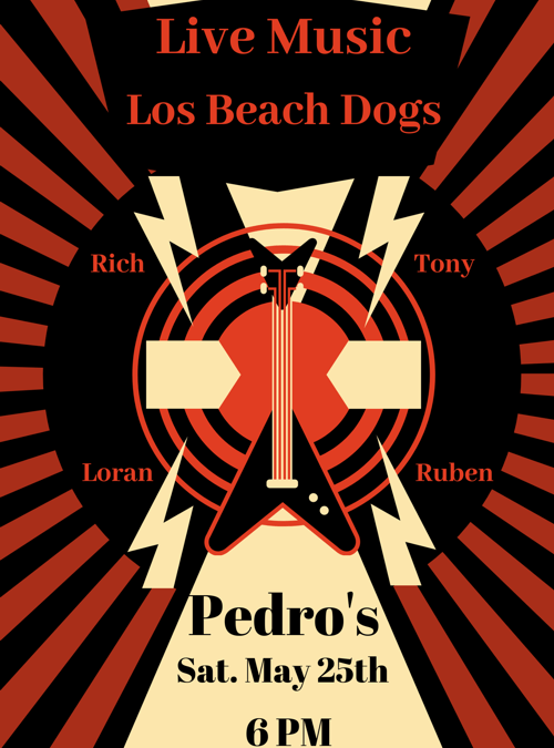 Los Beach Dogs at Pedro's