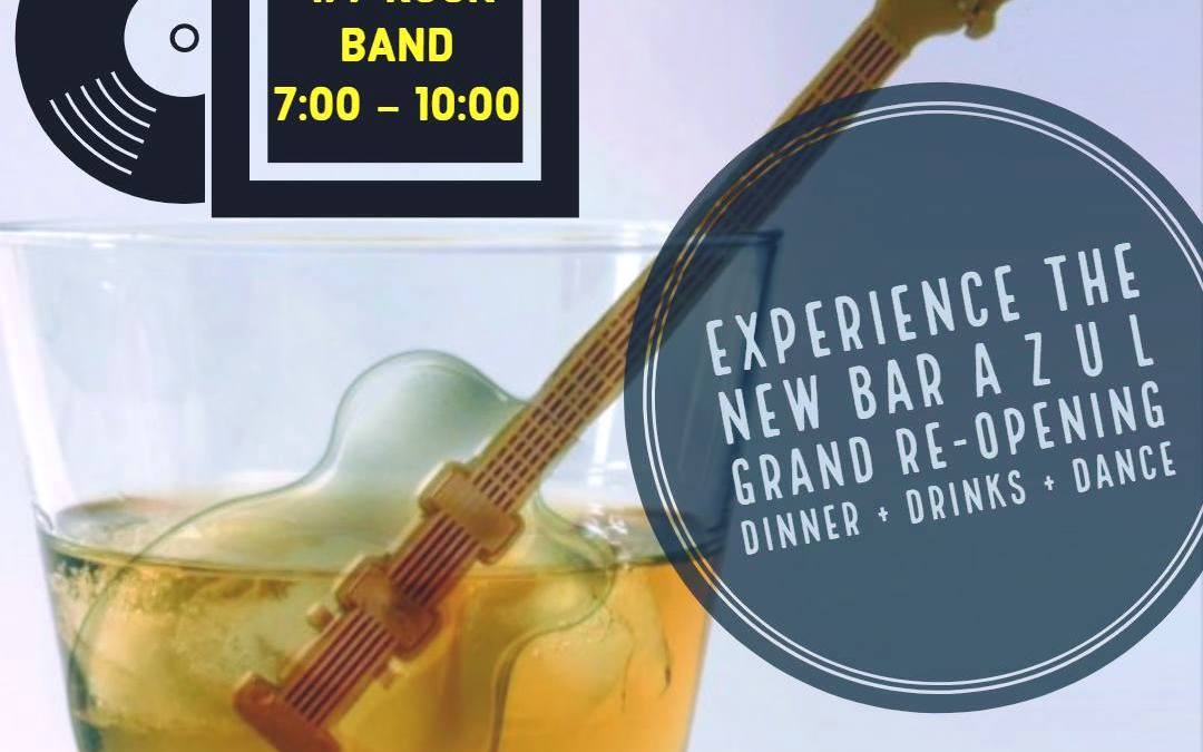 Bar AZUL Loreto Grand Re-opening with 477 Rock Band