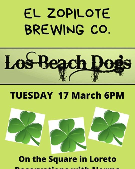 Los Beach Dogs St. Patrick's Day