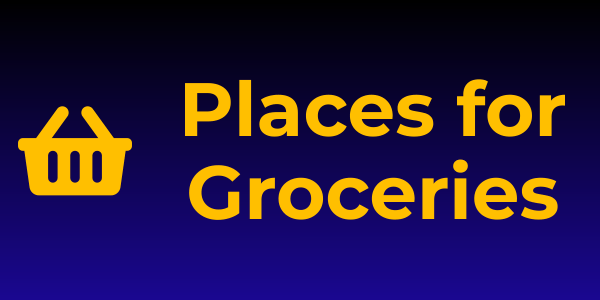 Places for Groceries in Loreto