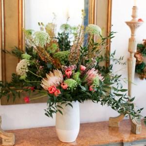 Arreglo flores madrid Loreto Aycuens estudio floral