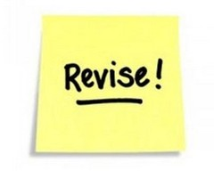 Revise-stick-on