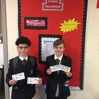 Mahmood Saadeh & Ben Partington Healey Ticket Winners