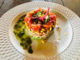 Alma del Sur Quinoa Avocado Salad