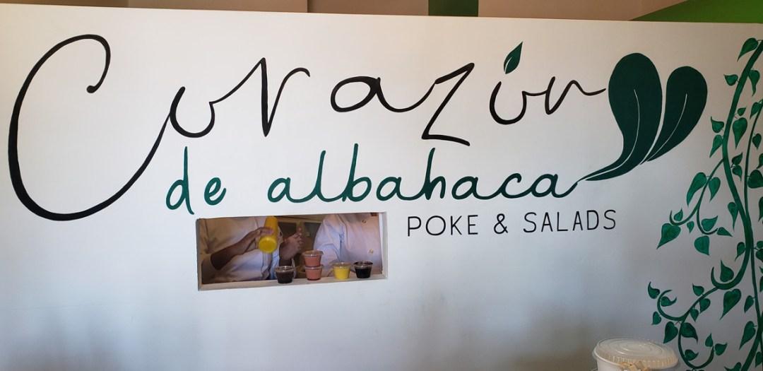 Corazón de Albahaca Poke Bar