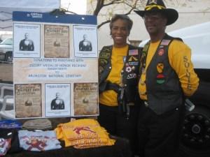 Karl & Loretta for Buffalo Soldier Isaiah Mays
