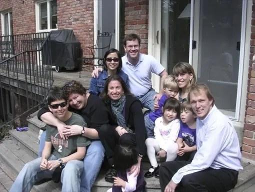 photo of LB, K, Lorena, Tina, Mark, Heather, Bruce, Omi, Leah, Adam, and Max