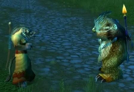 Tawn and Teruna dancing in the road