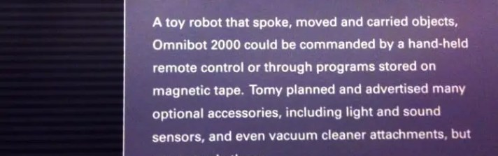 Omnibot 2000 Description