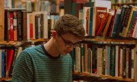 Mason hides away in the library because he's depressed, and student need for psychiatric care is too great to get help.