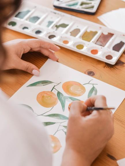 Covid hassles annoying? Learn to draw and paint and enjoy yourself.