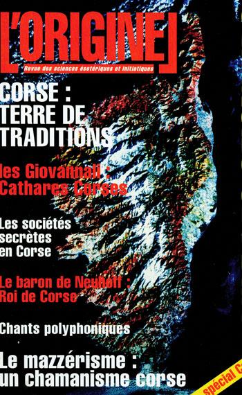 Revue Loriginel - Corse Terre de traditions