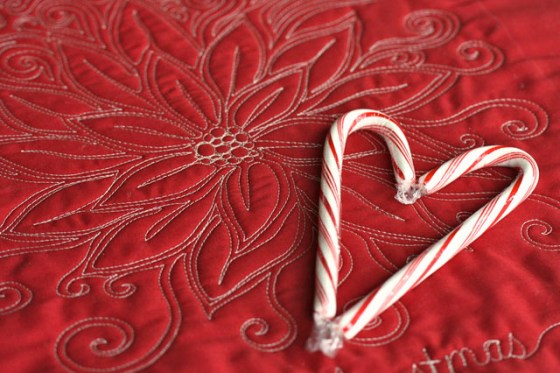 Christmas Free Motion Quilting