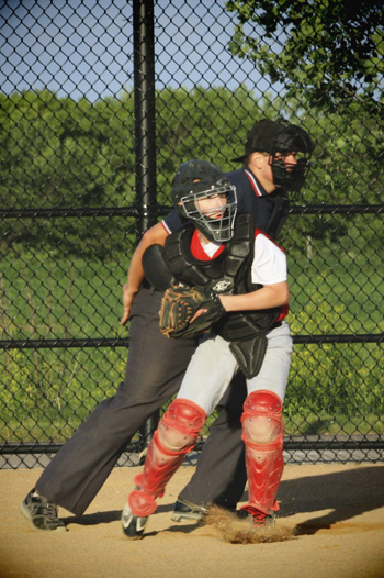 PK Behind the Plate, Baseball, Little League, Catcher
