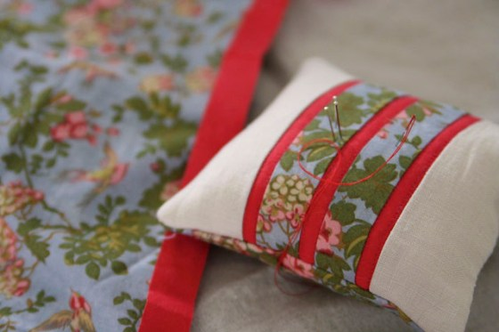Pin cushion, DIY, Sewing, Crafts