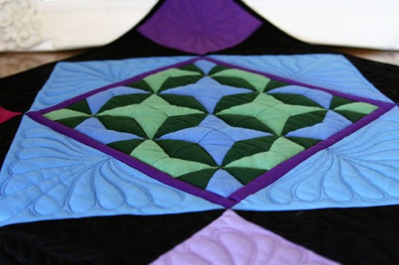 Amish Quilt, Orphan block, Stencil