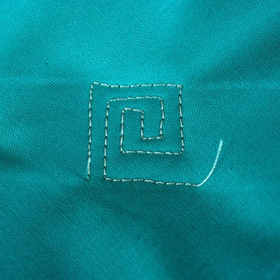 Greek Key Free Motion Quilting Tutorial