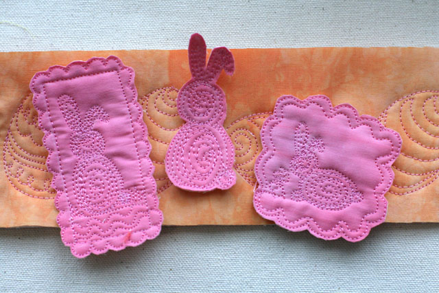 Easter Bunny, Free Motion Quilting, Tutorial