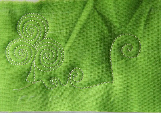 Shamrock Free Motion Quilting, Giveaway