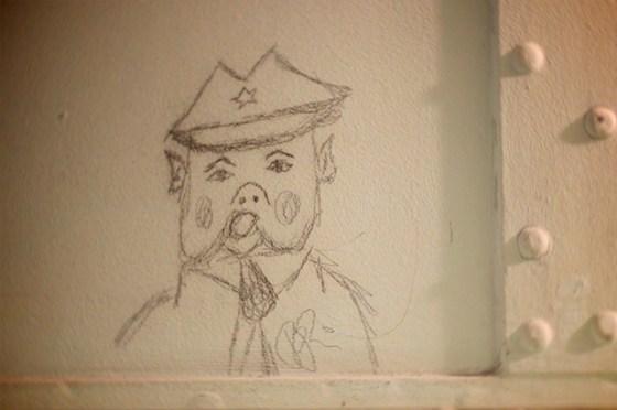 Jailhouse graffiti