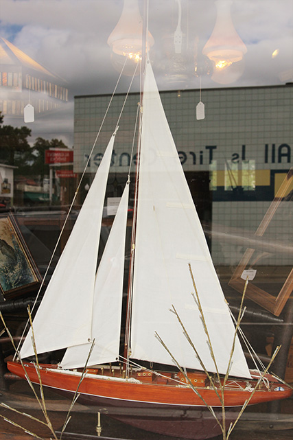 Flea Market, Sailboat