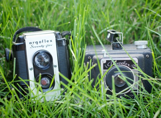 Reading, Vintage Camera, Photography