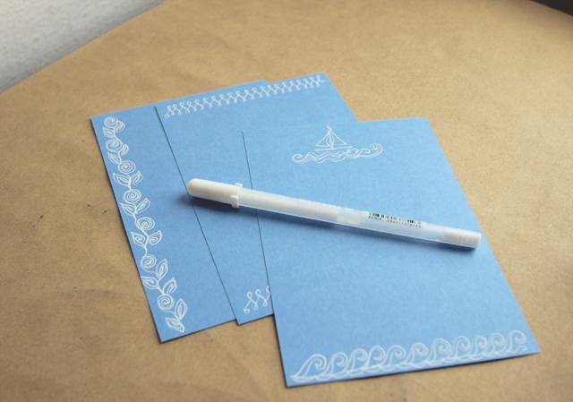 DIY Doodle Stationery