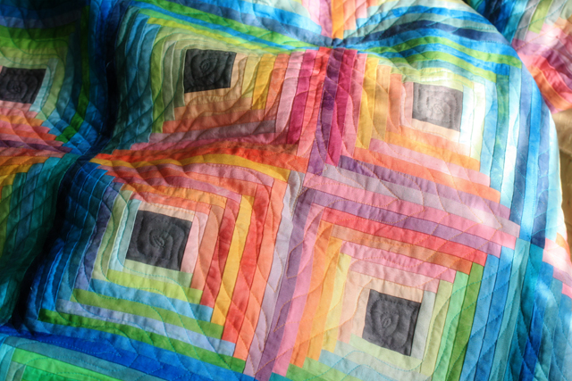 Quilting, Log Cabin