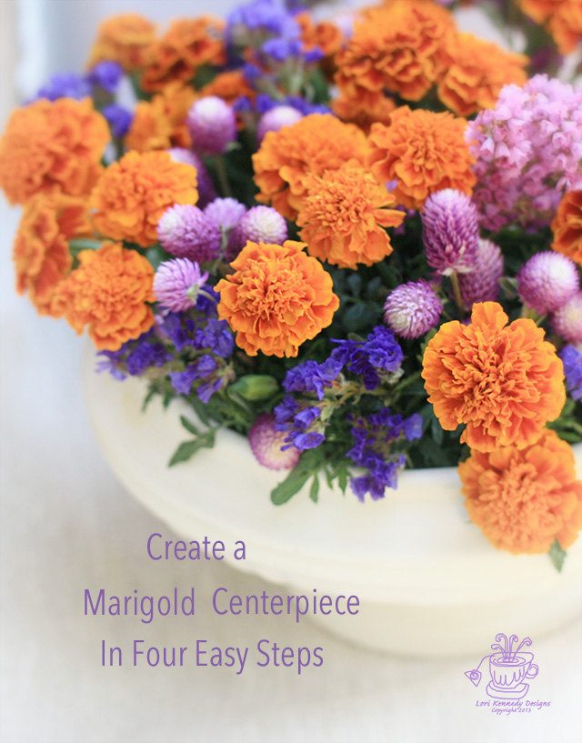 How to Make a Marigold Centerpiece