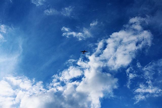 Planes, Cloudy Sky