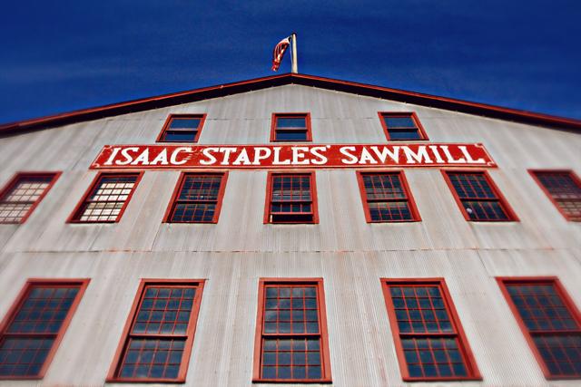 Isaac Staples Sawmill Building, Stillwater, MN
