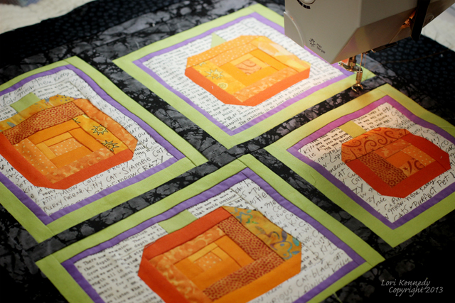 Begin Quilting, Pumpkin Quilt