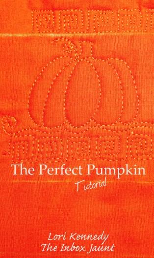 FMQ Tutorial-The Perfect Pumpkin
