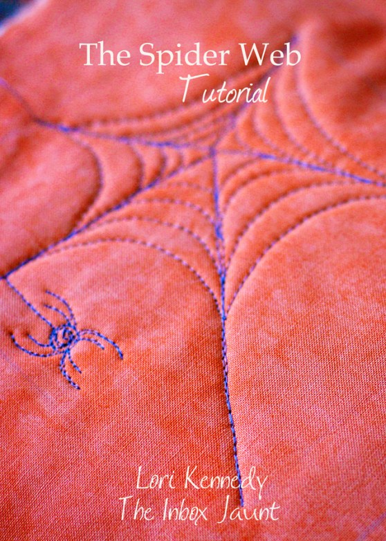 How to Quilt a Spider Web