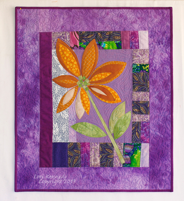 Brown Eyed Susan Quilt