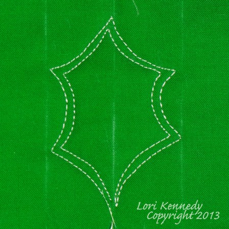 Holly, Free Motion Quilting Tutorial