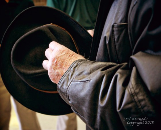 Man's Hat, Man's Hand