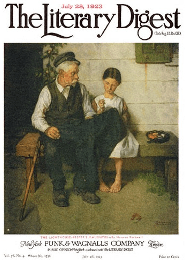 The Lighthouse Keeper's Daughter, Norman Rockwell